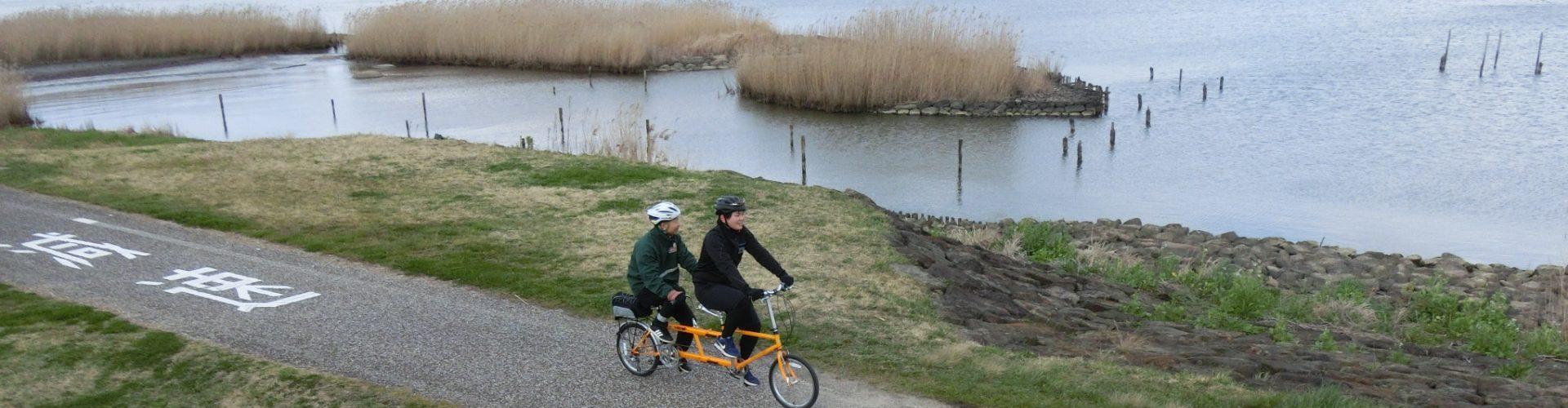令和2年3月タンデム自転車走行会(湖遊館・斐伊川土手周辺)の写真