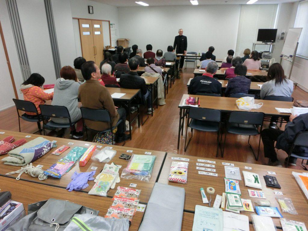 令和元年12月女性部研修会(災害に強い視覚障害者)の写真