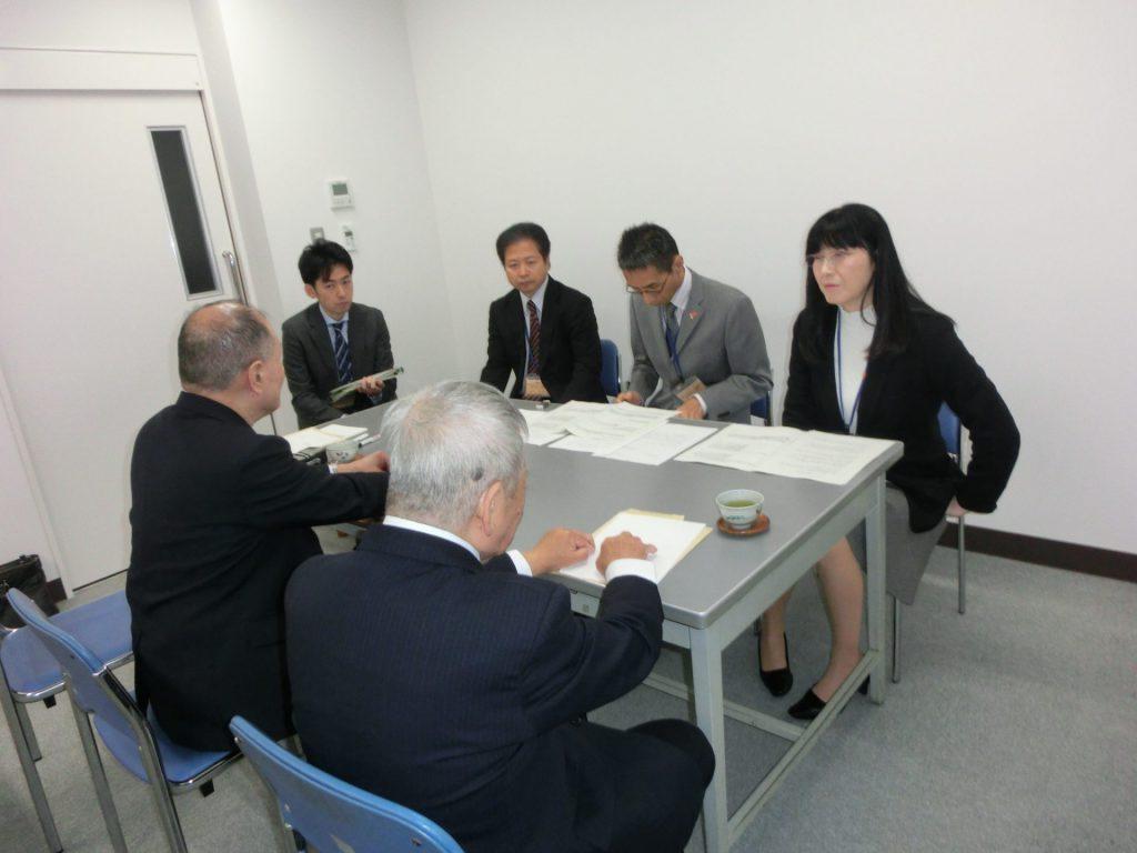 平成30年11月 島根県への要望活動の写真